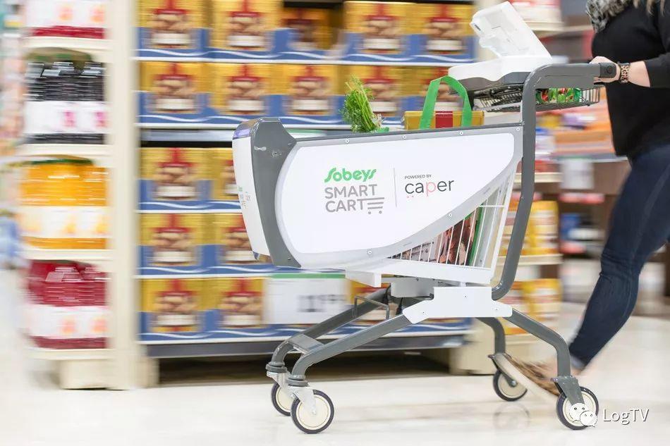 无人超市和传统超市都适用的全球首款超市智能购物车诞生了!