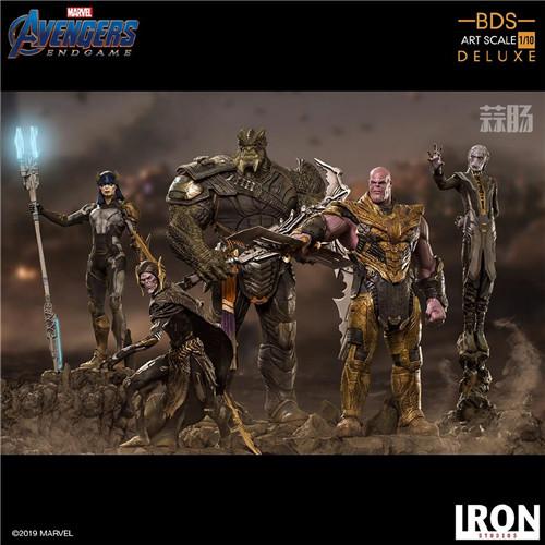 IronStudios《复仇者联盟:终局之战》灭霸等一众反派_人偶