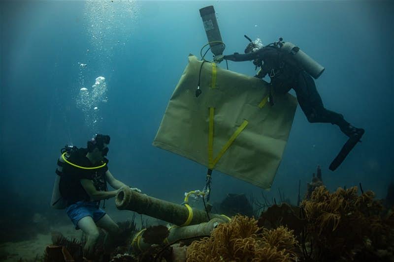 """在蔚藍世界探尋沉船遺跡:多米尼加新建一家""""海底博物館"""""""
