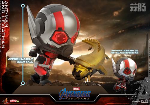 HT推出漫威《复仇者联盟4:终局之战》蚁人及利维坦COSBABY_Toys