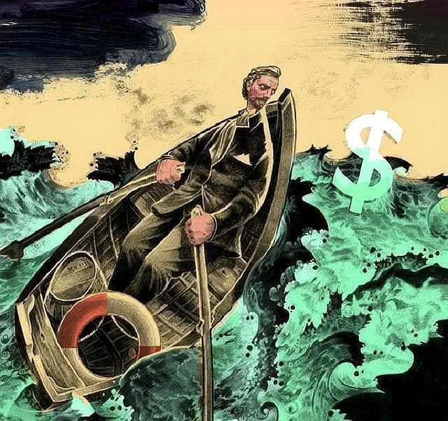 """美国突然发生大规模的富人逃离潮,美联储9天紧急""""放水""""3.8万亿"""