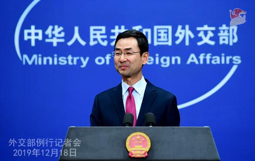 如何評價今年中國外交? 耿爽打了個廣告