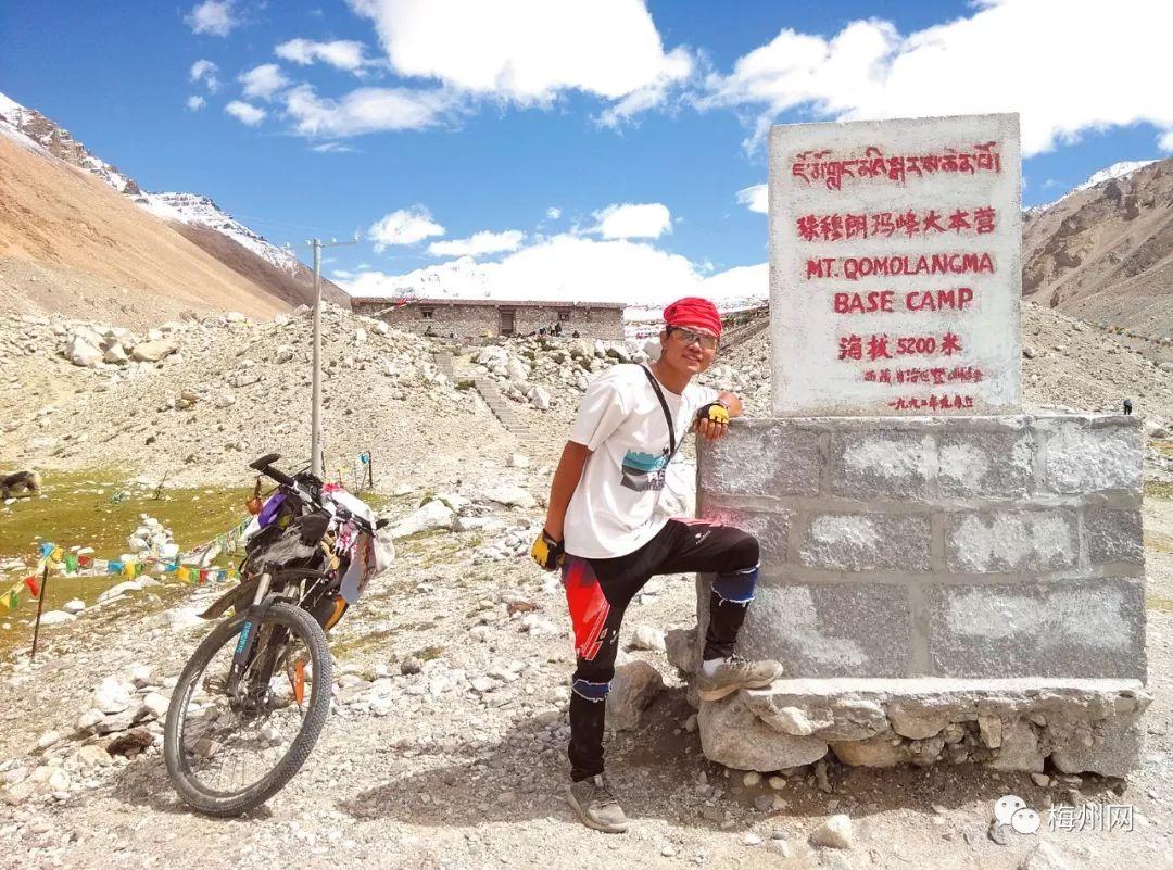 <b>硬橙!梅州12岁男孩跟随爸爸骑行西藏!28天2164公里!</b>