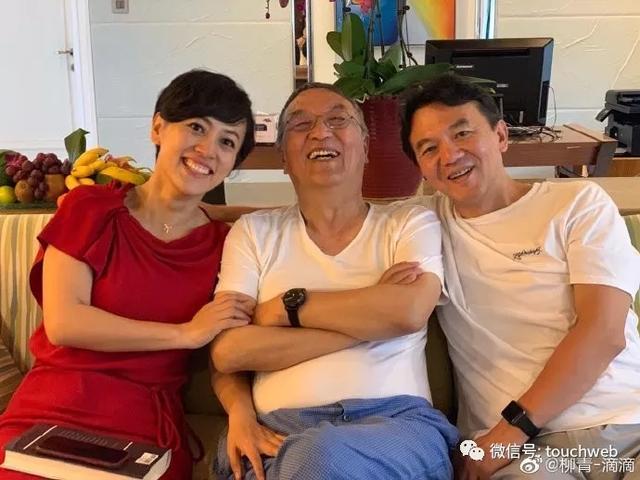 滴滴总裁柳青晒多张家人幸福合照 恭喜父亲柳传志退休