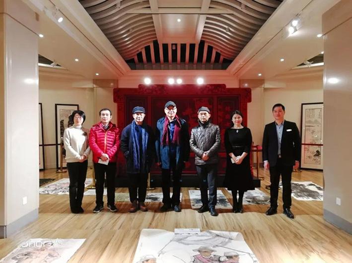 """""""华夏好丹青""""第六期优秀国画作品海选活动在北京华方艺术中心举行"""