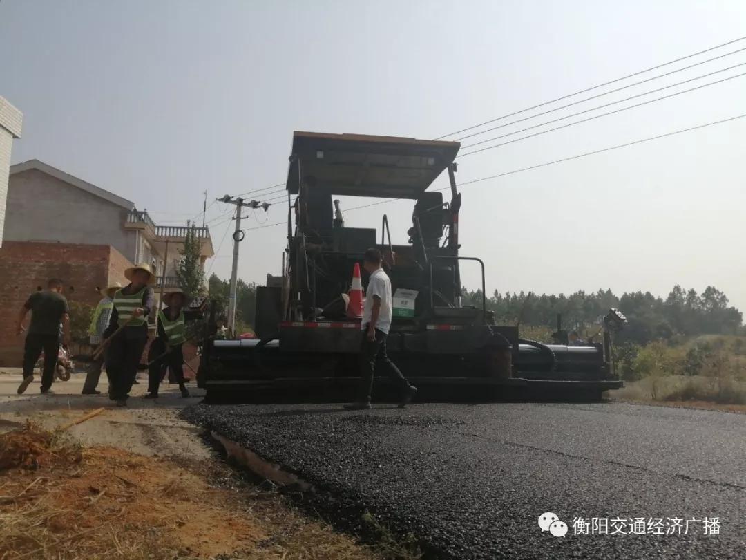 """衡阳市石鼓区斥资2亿实现公路""""村村通"""""""