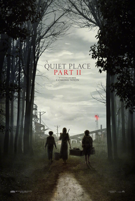《寂静之地2》首款海报预告双发 艾米莉·布朗特举家进入未知世界