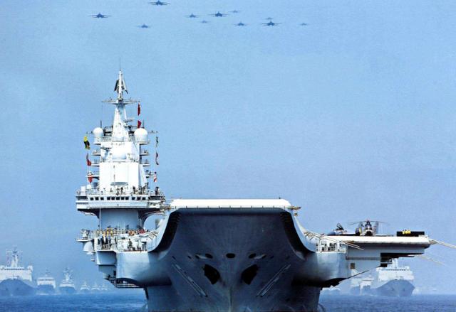 中国海军跨入双航母新时代