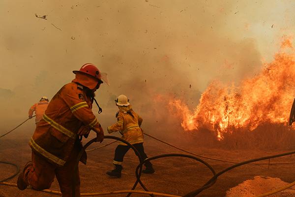 堪培拉浓烟锁城 澳大利亚森林大火最新情况