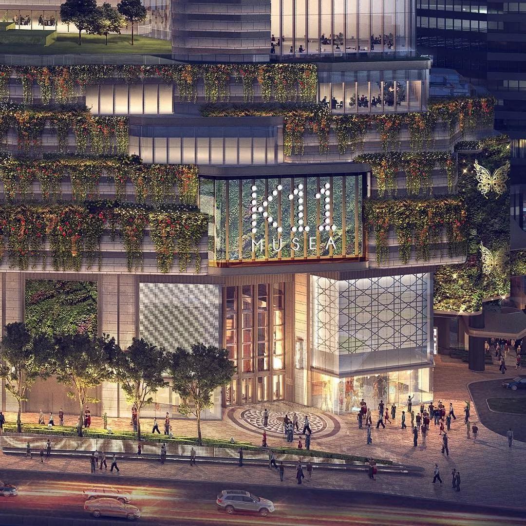 K11MUSEA,可是香港史上最酷的直线了绘制商场时,按什么键画垂直线图片
