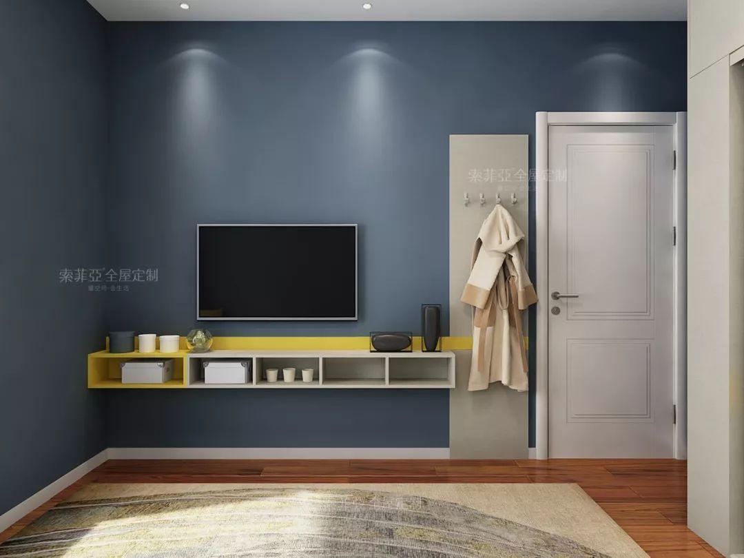 <b>别人家的卧室为什么这么美,背景墙告诉你!</b>