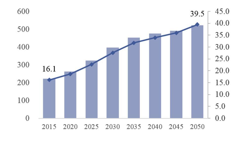 中国60岁以上人口_14.1亿 全国人口普查结果出炉,男女比例