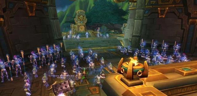 《魔兽世界》8.3PTR:设计师终于玩游戏了,诸王之眠技能削弱