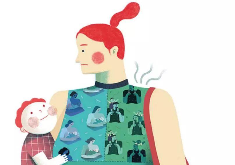 一位二胎妈妈在焦虑症后的思考:顺其自然才是最好的教养