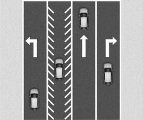这一交通标线让许多老司机看傻眼  网友:不懂要吃亏
