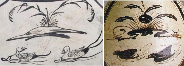 剪纸漏花对吉州窑彩绘的影响