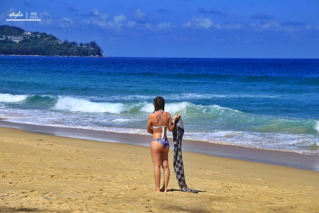 普吉岛日落最佳观景点之一,风景优美,还是冲浪圣地