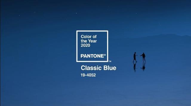 """2020年即將流行""""經典藍""""色,你會穿嗎?"""