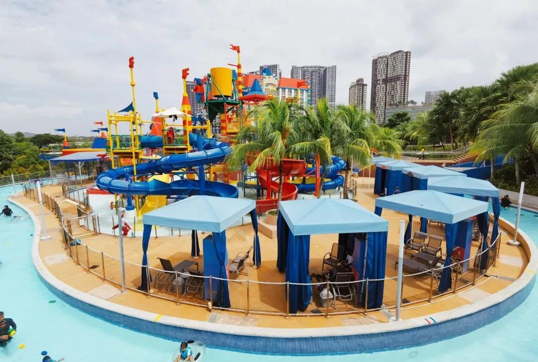 去热带海岛的乐高主题水上乐园过清凉炫酷的圣诞,你想过吗?