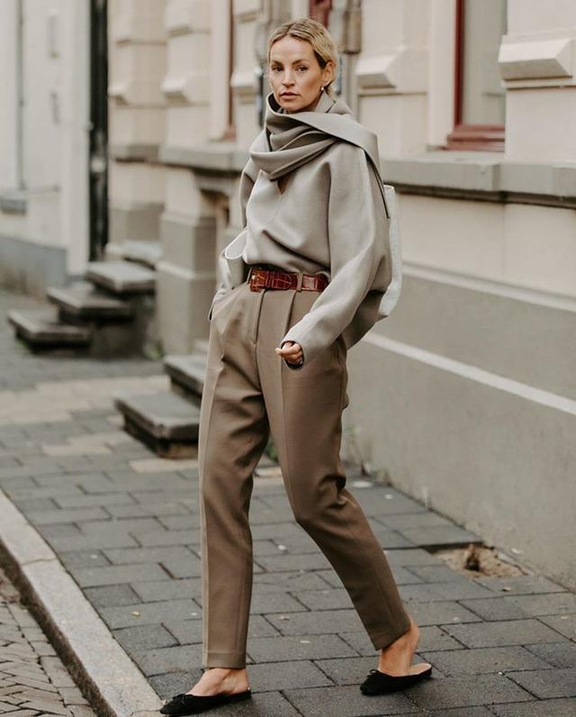 一件简单毛衣也能穿出奢华感,北欧博主告诉你冬季这样穿衣才高档_Yve