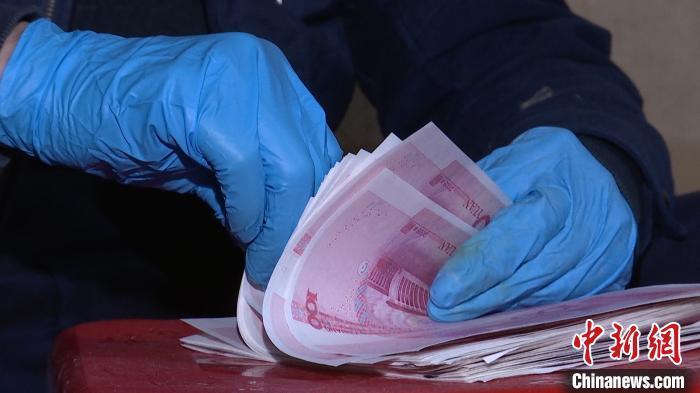 广西警方捣毁一假币印制窝点 缴获假币200多万元