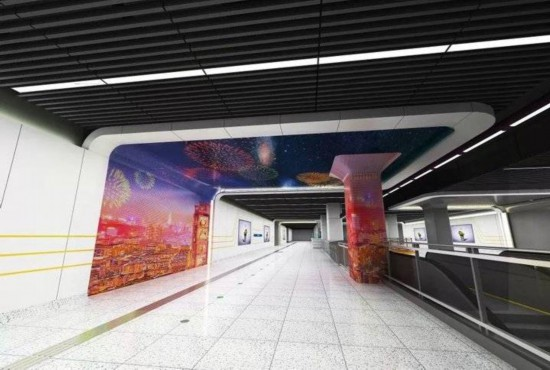 """印象泉城!济南地铁3号线""""裴家营站""""装饰装修首次曝光!"""