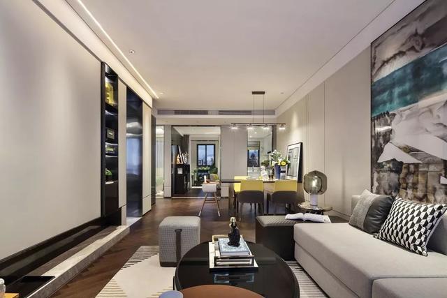108㎡现代简约,简洁空间,配上雅致软装,舒适又大方