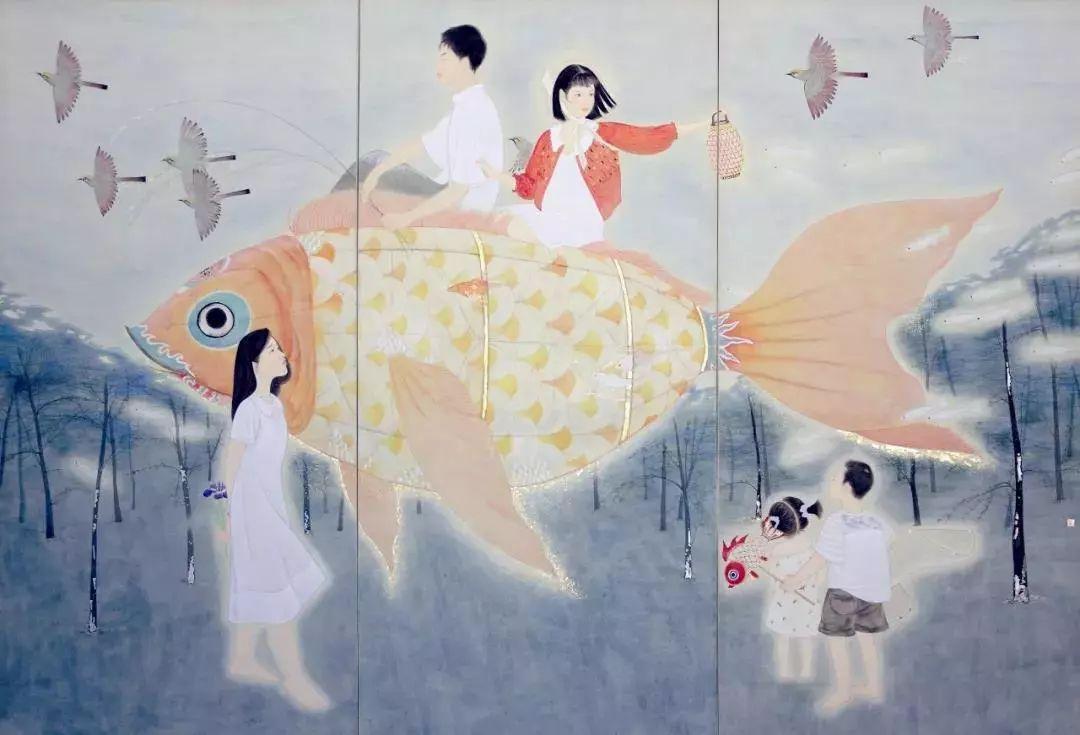 线上展厅丨精微 广大 中国当代工笔画名家小幅精品展作品赏析