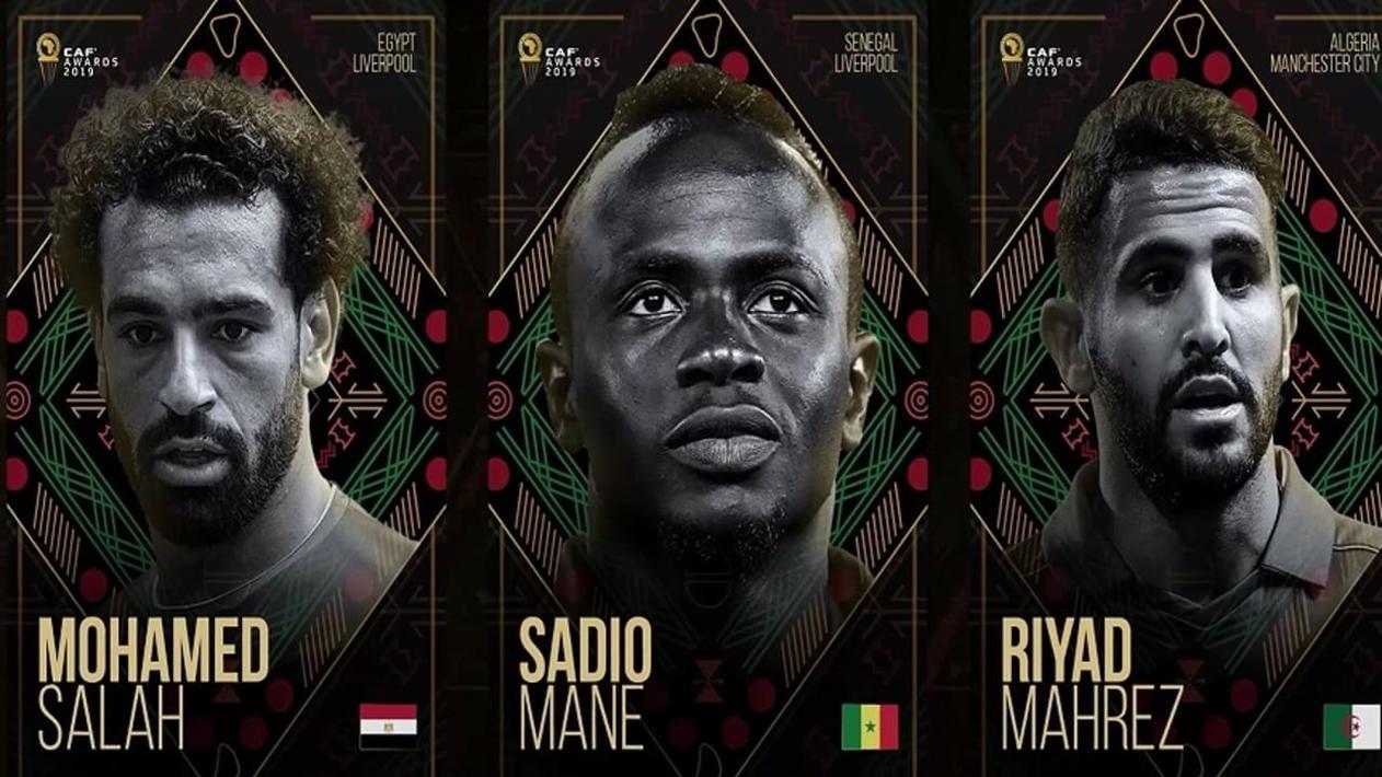 非洲足球先生最终候选:萨拉赫、马内、马赫雷斯