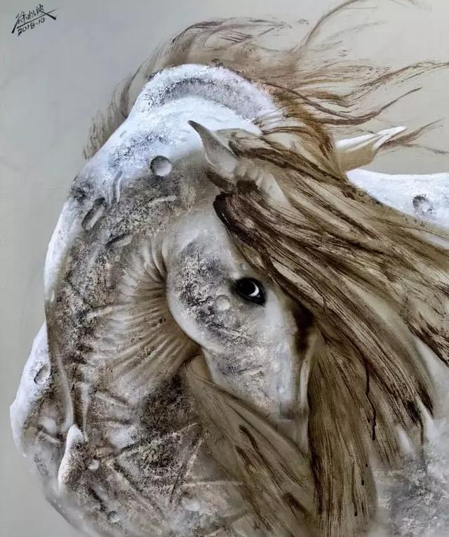 中国画家徐松波绘画作品欣赏