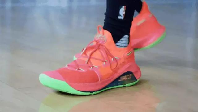 安德玛Curry 6评测!来自金州勇士库里的暴力战靴