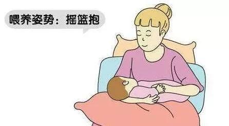 母乳喂養的四種姿勢,你知道多少?