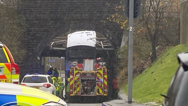 英双层巴士钻桥洞被削顶,中国女学者伤重离世!同车奥运冠军骨折