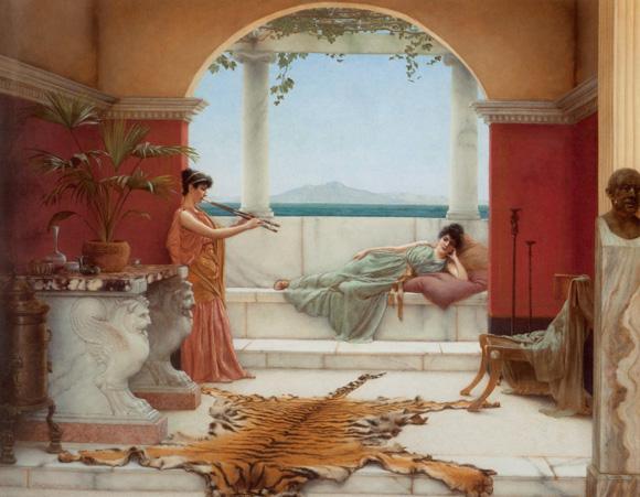 英国画家约翰·威廉·格威德作品赏析