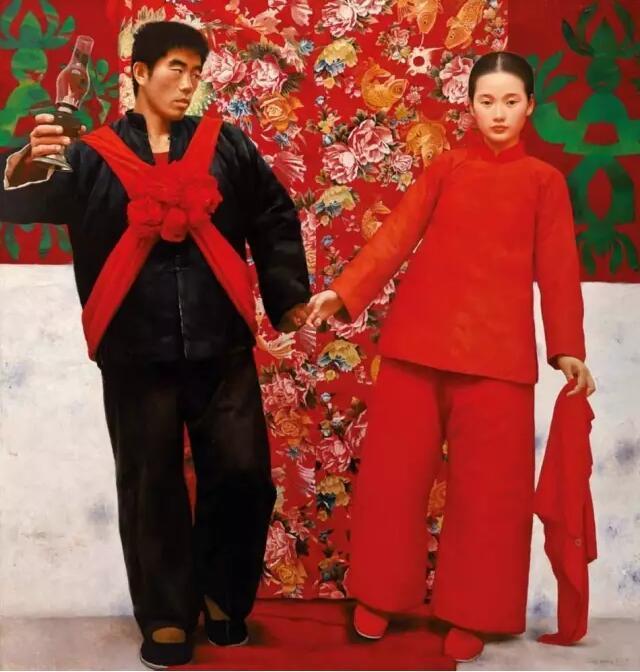 中国著名油画家王沂东人物油画作品赏析