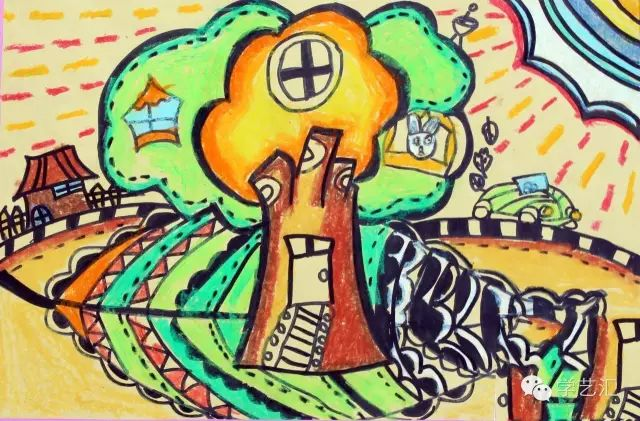 创意绘画艺术教育对于儿童成长的重要性
