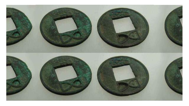 东汉时期的钱币,一个可以掰成两个花,你相信吗?