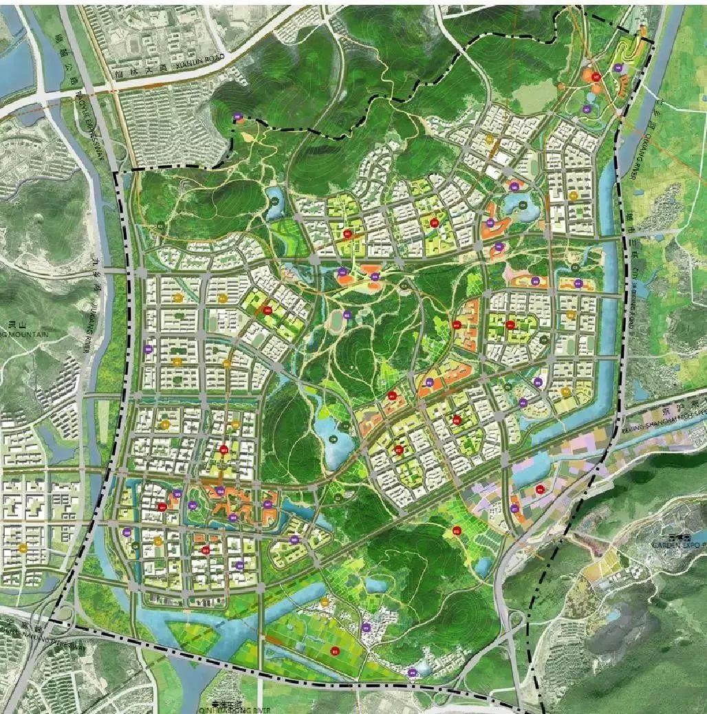 南京紫东地区规划图