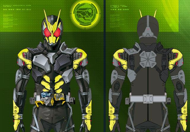 假面骑士001部分设定公开 颜值高于强度 强化格斗能力的特殊形态