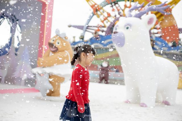 廈門的天空下雪了,方特夢幻王國的冰雪之約