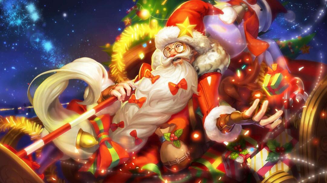 网游界最特别的圣诞节礼物,不花1分钱,却比几百块买的时装还美