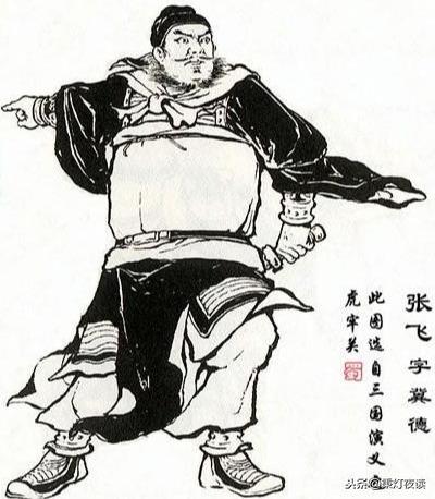 三英战吕布   张飞绝对是《三国演义》核心人物图片