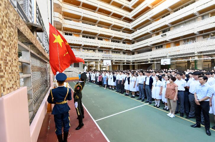 香港有中学回归以来从未升国旗,教联会这么建议