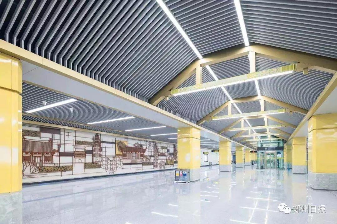 定了!郑州地铁2号线二期工程本月28日开通试运营