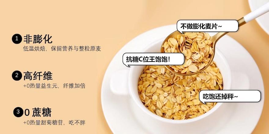 线上麦片第一品牌王饱饱获A轮融资,创新力引领行业新增长