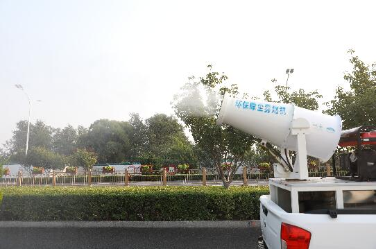 治理扬尘,北京通州这个街道用上了智慧网