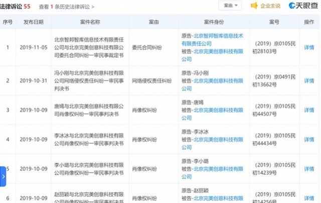 <b>更美App遭王一博、张艺兴等多位明星起诉 回应:有的会和解</b>