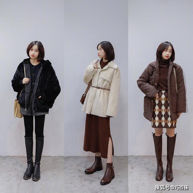 小个子秋冬怎么穿?24套值得参考的搭配,照着穿气质身材双丰收