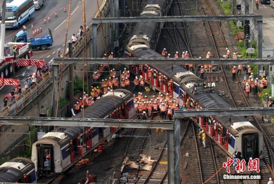 9月港铁脱轨 香港机电署:事故原因非外物或恶意破坏