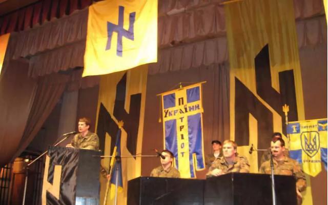 悲愤:侮辱老兵,焚烧红旗,纳粹变英雄,这群匪徒正亲手摧残自己